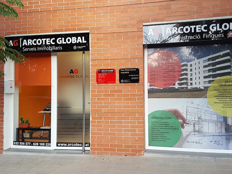 Fachada Arcotec, Administradores de fincas en Martorell